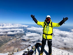 Image of Bob Chadwick on Mt Elbrus