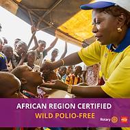 Polio Free Africa Image