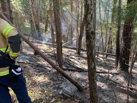 Escaped Debris Burns Keep Fire Crews Busy