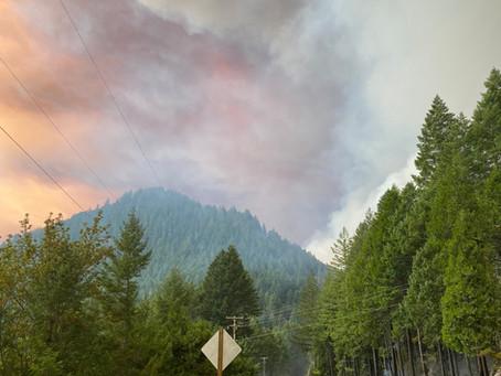 Star Mountain Fire & Archie Creek Fire Update
