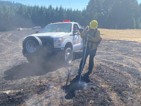 Rock Creek Road Fire