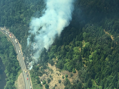 Highway 38 Fire