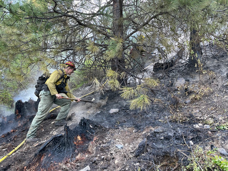 Tuesday Fires: Kent Creek Fire & Shively Pond Fire