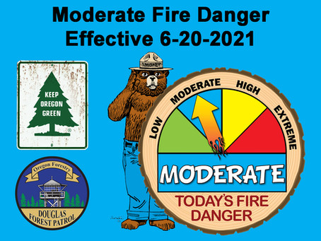 Fire Danger Increases Sunday, June 20th