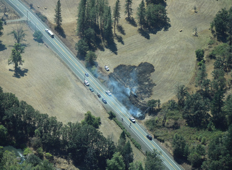 Recent Wildfires in Lookingglass Area Suspicious