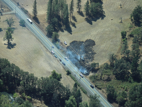 Recent Wildfires in Lookingglass Area Suspicious