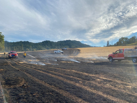 Highway 42 Fire