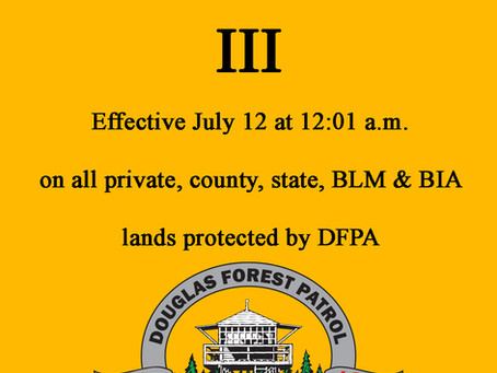 Industrial Fire Precaution Level III Takes Effect July 12th
