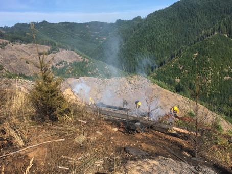 Weatherly Creek Fire