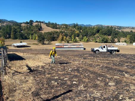 Gross Mountain Fire