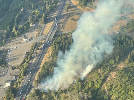 Pass Creek Fire