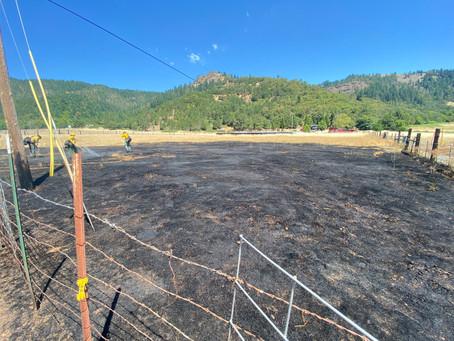 Weaver Road Fire