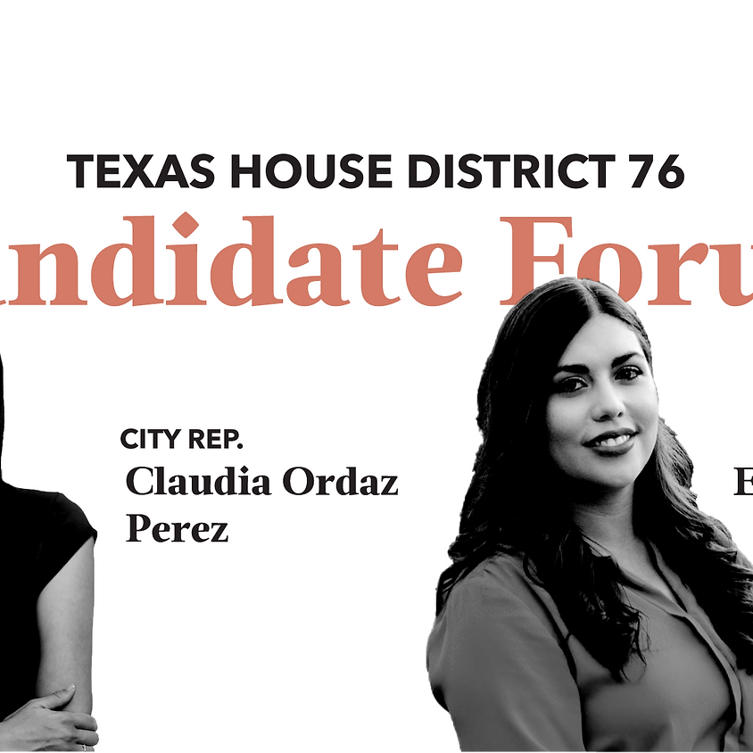 HD 76 Candidate Forum