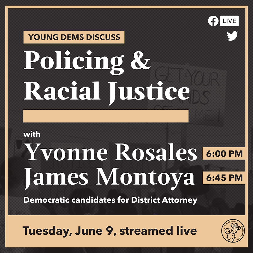 Young Dems Discuss: Policing and Racial Justice