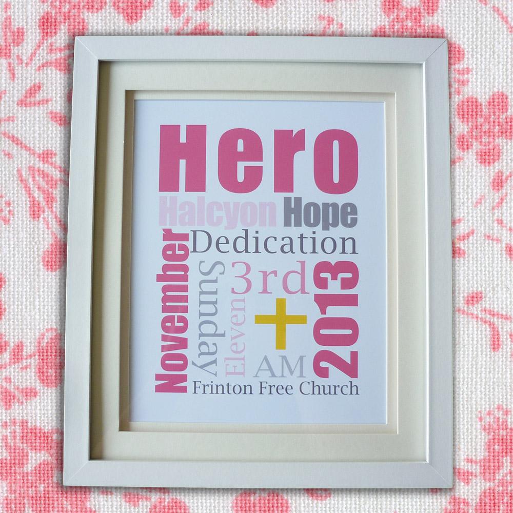 Christening Gift - Girl