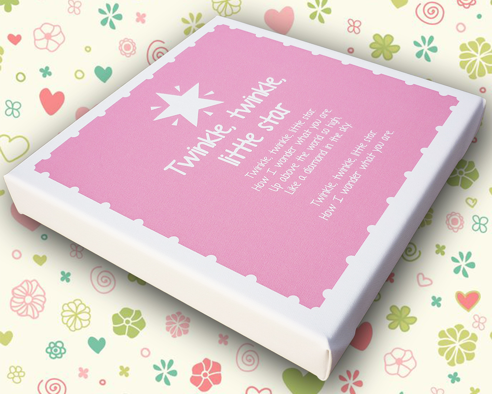 Nursery Rhyme Canvas