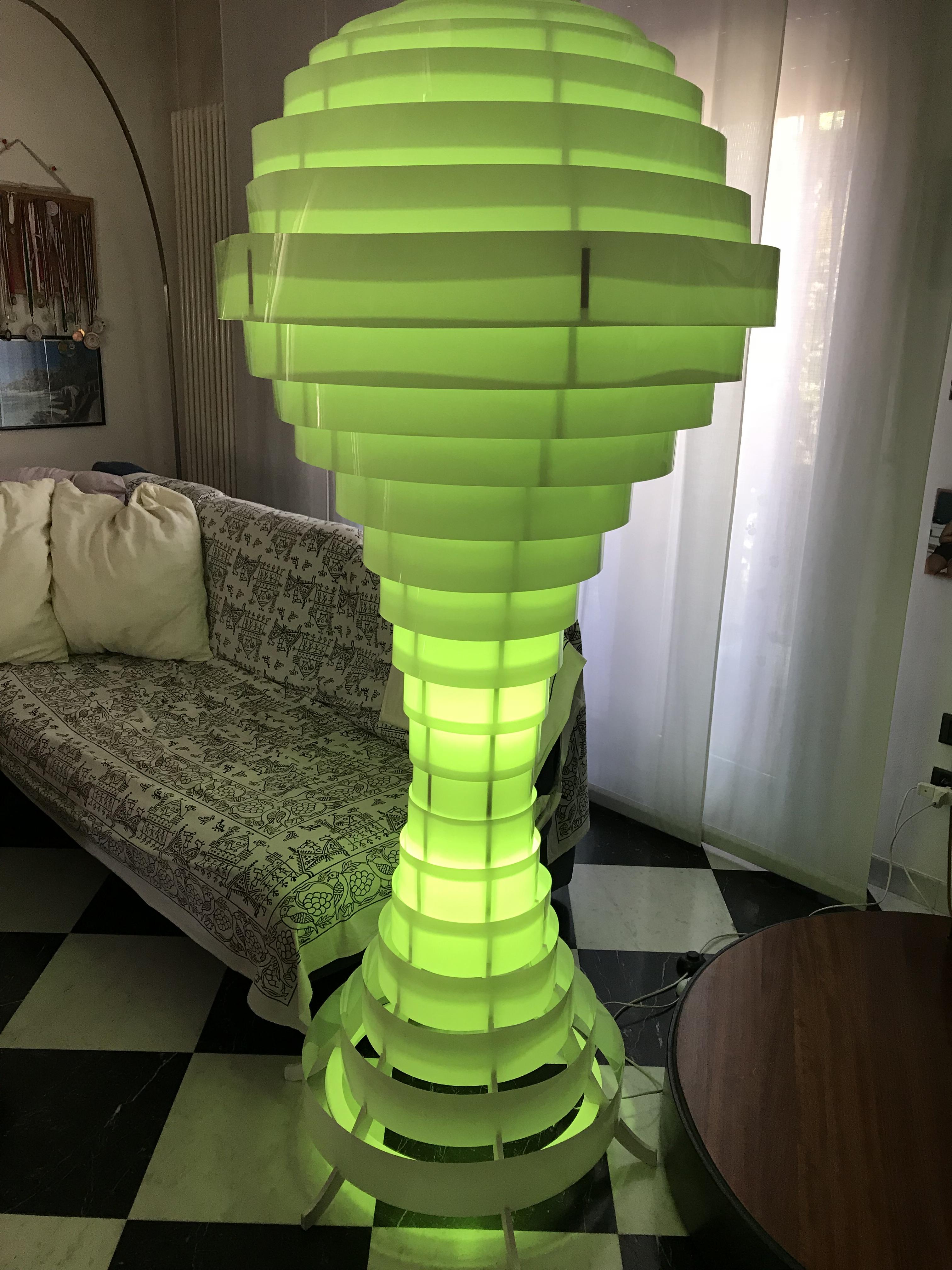 Lampade serie ECOS in PVC