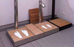 Docce Easy Shower® - impronte piedi