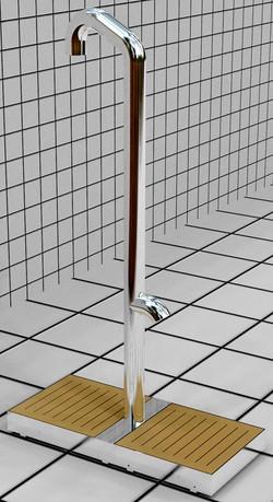 Doccia per esterni Easy Shower - MOD. FACE TO FACE-S1.jpg