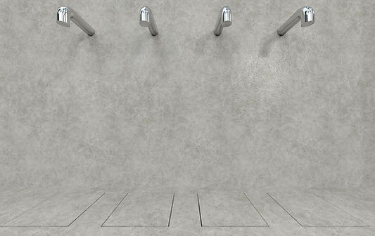 Docce per interni Easy Shower - Bagno spogliatoio sportivo