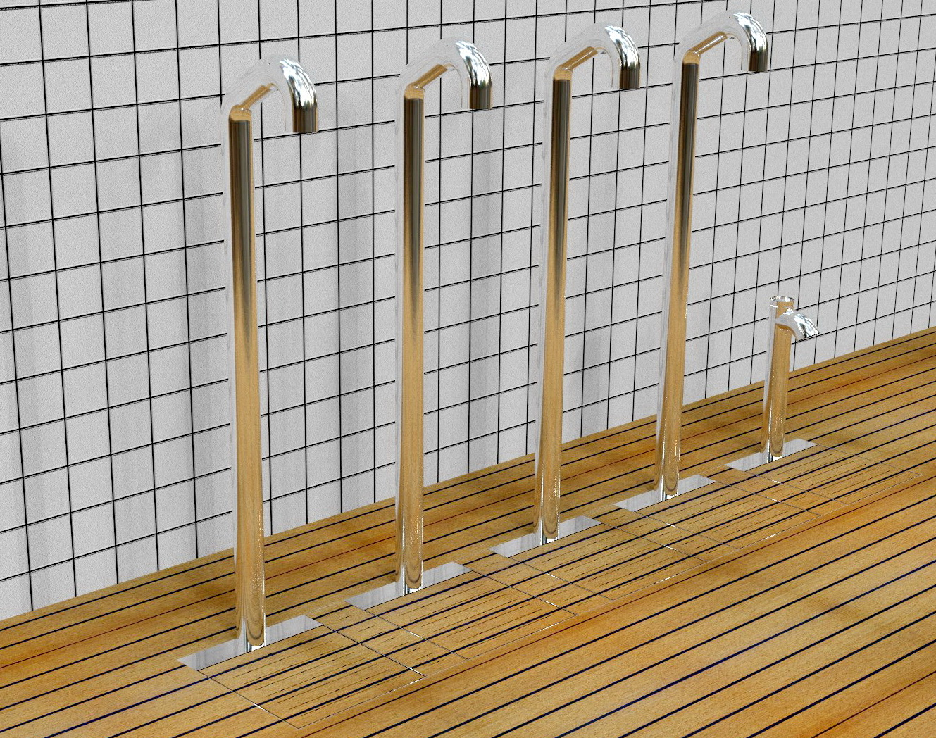 Docce da esterni Easy Shower