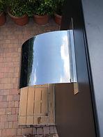 Docce solari Easy Shower - MONOLITH - particolare soffione a cascata
