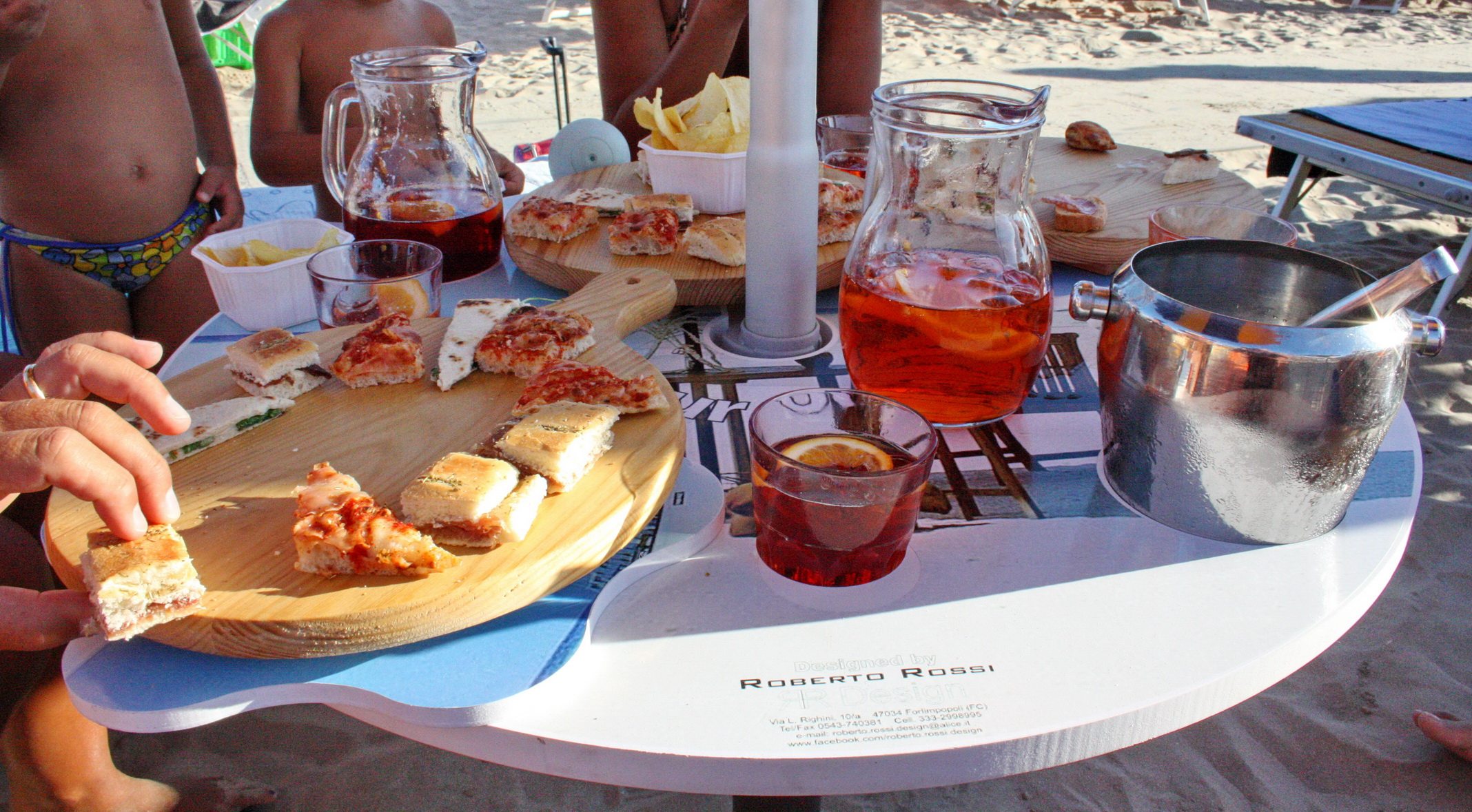 Vassoio Happy hour on the beach®