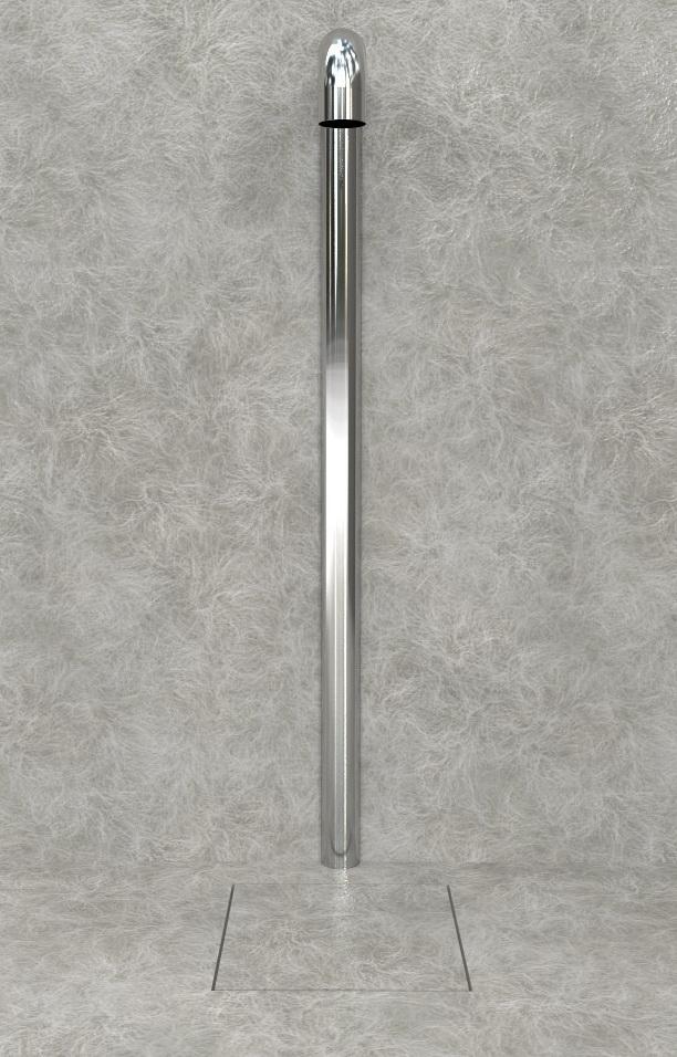 Doccia per esterni Easy Shower - mod. BASE-1-U+canalina_a.jpg