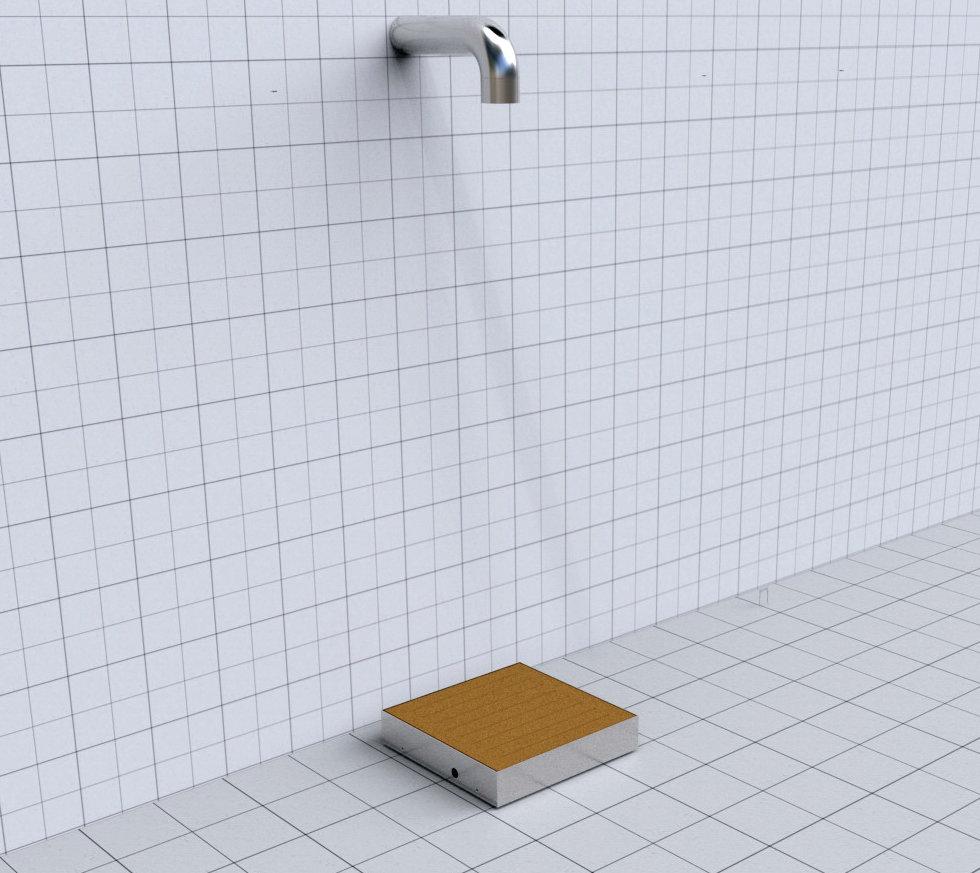 Doccia per esterni Easy Shower - mod.BASE-1