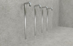 Doccia per esterni Easy Shower - mod. BASE-4-U+canaline1.jpg
