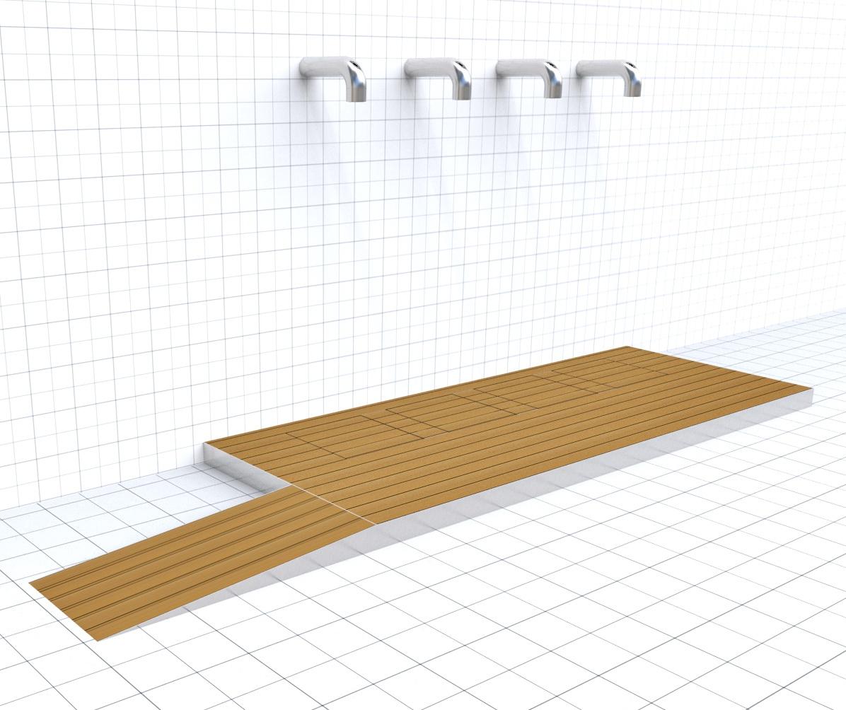 Doccia per esterni Easy Shower - mod. BASE-4+scivolo.jpg