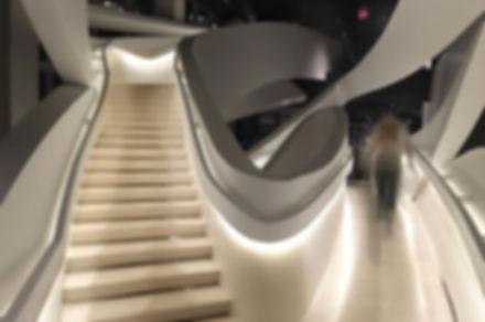 Realizzazione scala Fuksas per Megastore Armani in 5th Avenue New York