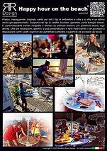 Tavoli per ombrelloni HAPPY HOUR ON THE BEACH® - Depliant_ITA_pag.2