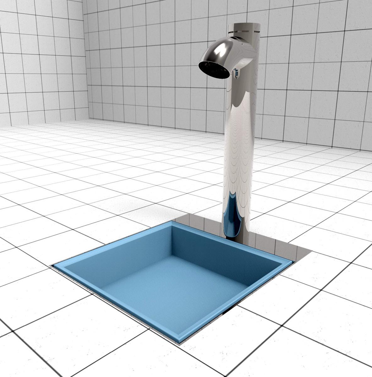 Doccia per esterni Easy Shower - Lavapiedi QUICK WASH-R-U-P.jpg