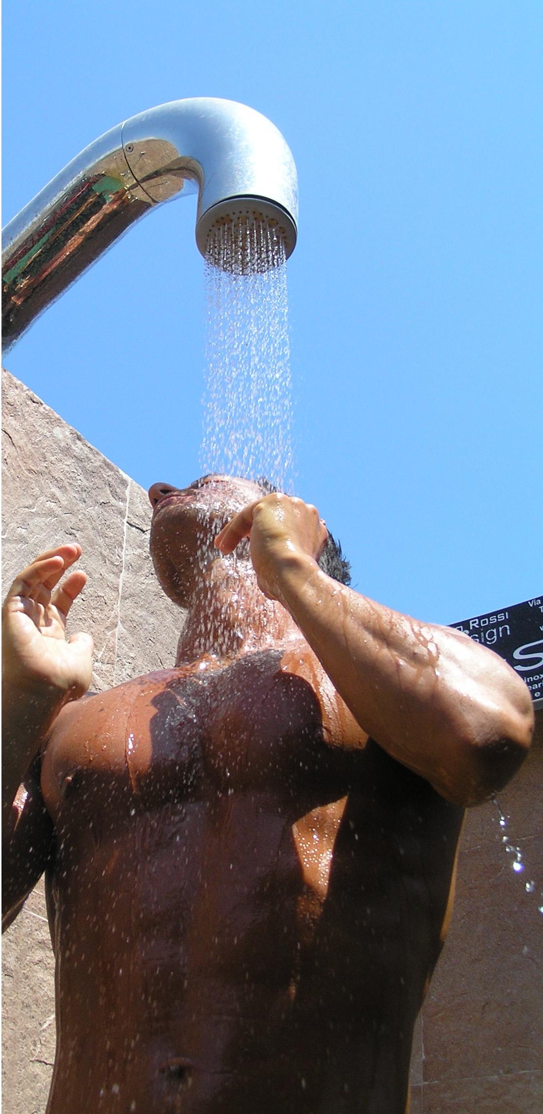 Doccia per esterni Easy Shower - mod. BASE-1 (1)