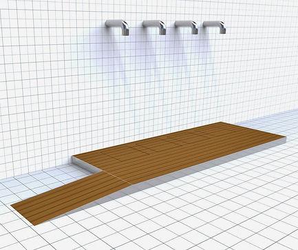 Doccia per esterni Easy Shower - mod. BA