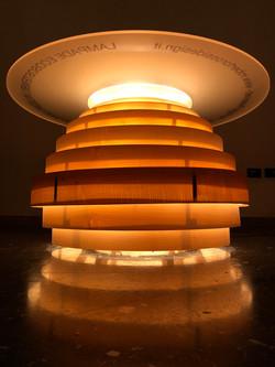 Lampade in legno serie ECOS