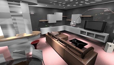 Progettazione e realizzazione interni di design