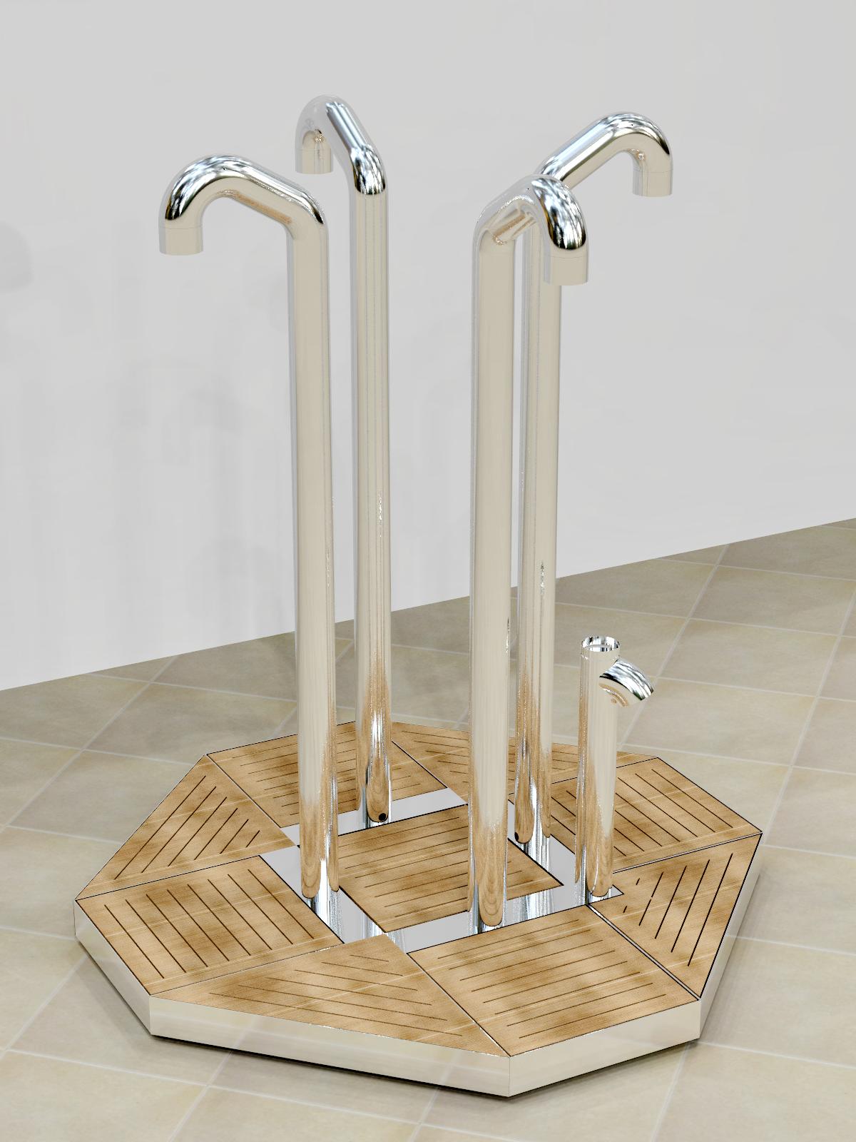 Doccia per esterni Easy Shower - mod. OCTAGON-PLUS.png
