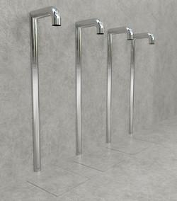 Doccia per esterni Easy Shower - mod. BASE-4-U+canaline1a.jpg