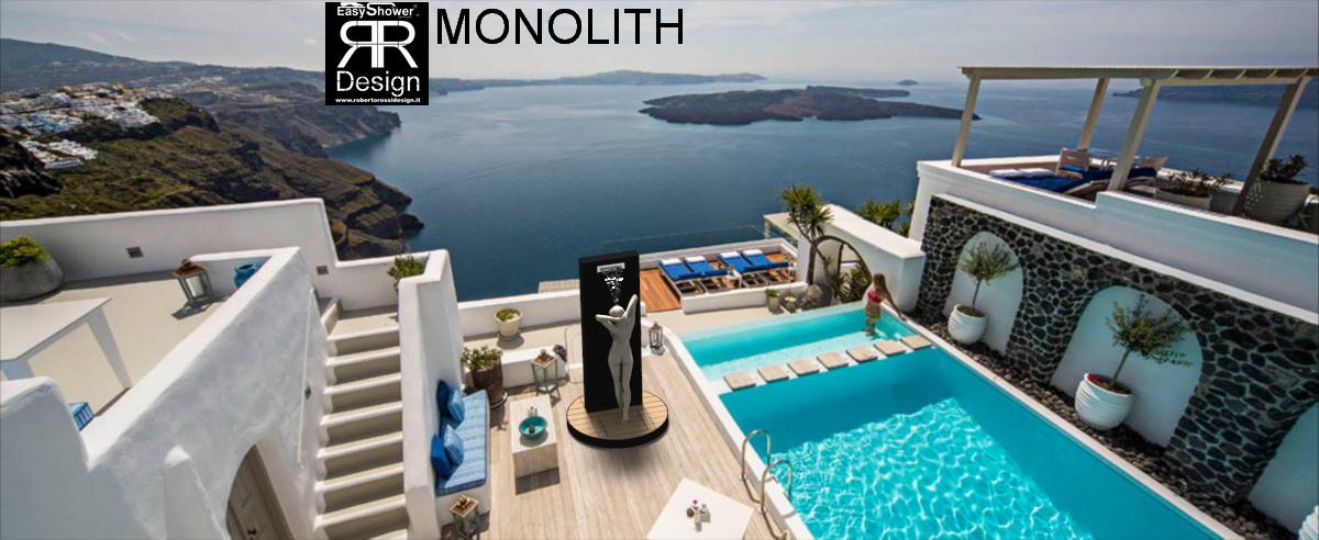 Doccia solare Easy Shower MONOLITH