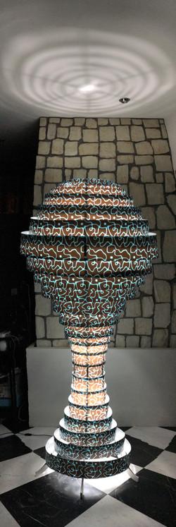 Lampade serie ECOS in legno o PVC
