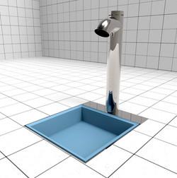 Lavapiedi igienizzante Easy Shower®