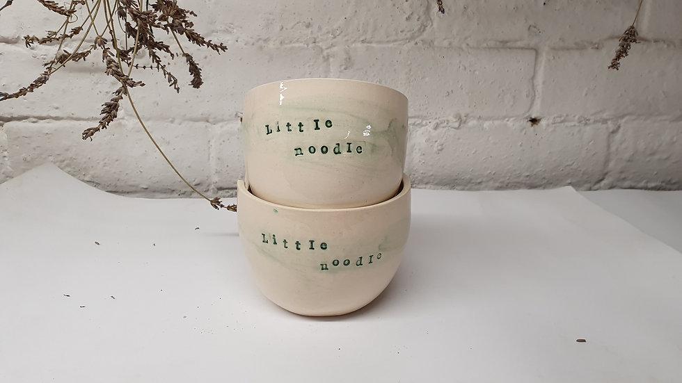 'Little Noodle' - noodle bowls