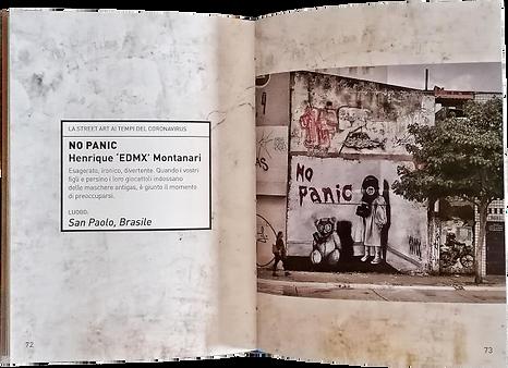 street art, corona, artist life, art book, edmx, graffito books, street art in times of corona, henrique edmx montanari, urban art, covid art, no panic