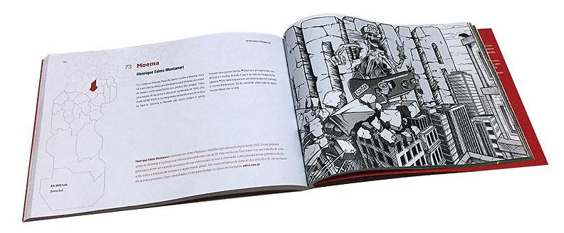 Henrique EDMX Montanari, Entrelinhas urbanas, livro, Skate Art, arte, ilustração, book, moema, skull