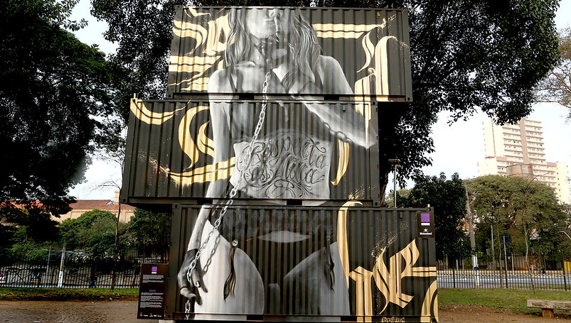 walls, supernova, graffiti, spray art, street art, edmx, realism, urban arte, arte de rua, containers, graffiti containers, sp, são paulo, girl power, pin up