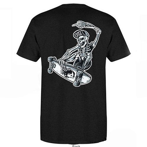 T-Shirt Skull Aerial