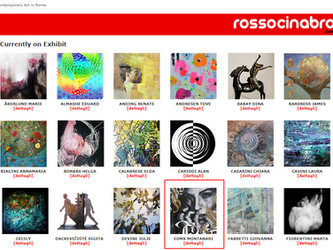 Exhibition at ROSSOCINABRO - ROME