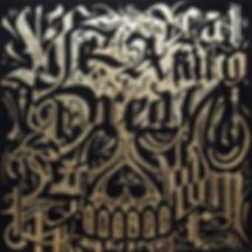 dia de los muertos, soul tattoo, skull, caligraphy, caligrafia, golden leaf, posca, posca pen, caneta posca, folha de ouro, edmx, henrique montanari, arte, art